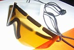 Polarized Roll-up Sunglasses Sporteyz Yellow 20pcs